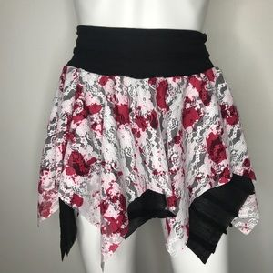 Dead Bride Bloody Lace Skirt Small Medium Large